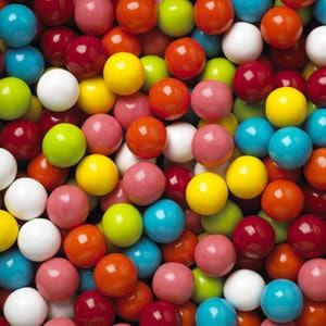 "assorted gumballs, 1"" gumballs, mixed color gumballs, bulk gumballs"