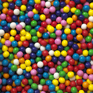 rainbow gumballs, rainbow gum, assorted flavored gumballs, rainbow colored gumballs, bubble brats