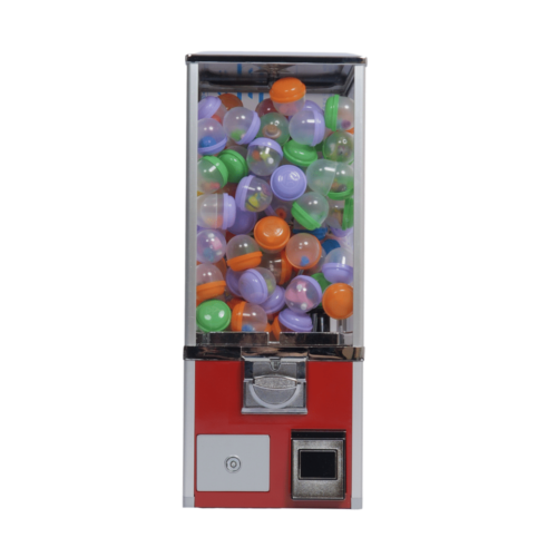 Single 2 Inch Toy Capsule Machine with Front Cash Box, toy vending, toy capsule, toy capsule machine, bouncy balls