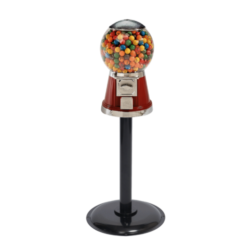 Single Classic Bubble-Gum Machine with Stand, bubble-gum machine, gumball machine, single classic bubble-gum machine, vending machines