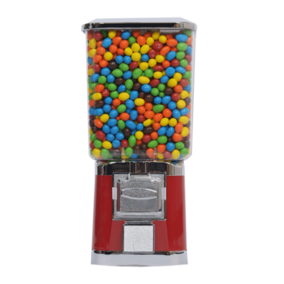 single square head machine, square head machine, candy vending, candy vending machine, vending machine