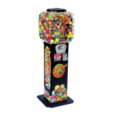 Spiral vending machine, zig zag vending machine, bouncy ball vending machine, capsule vending machine