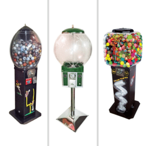 gumball depot, sports machines