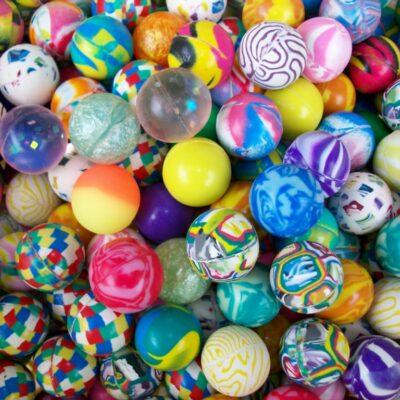 bouncy balls, super balls