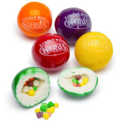 Nerd gumballs, sweetworks, bulk gumballs, gumballs